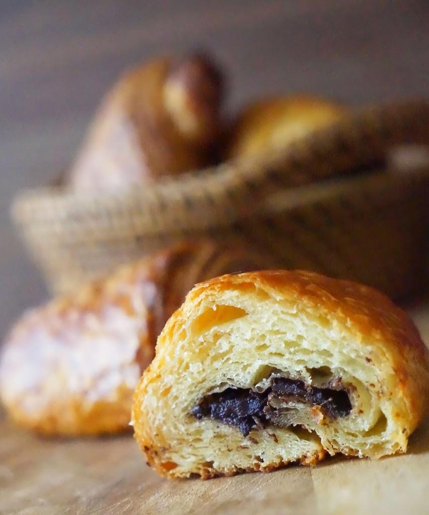 Petit Pain au Chocolat (Chocolate Croissant) | Chef Rachida