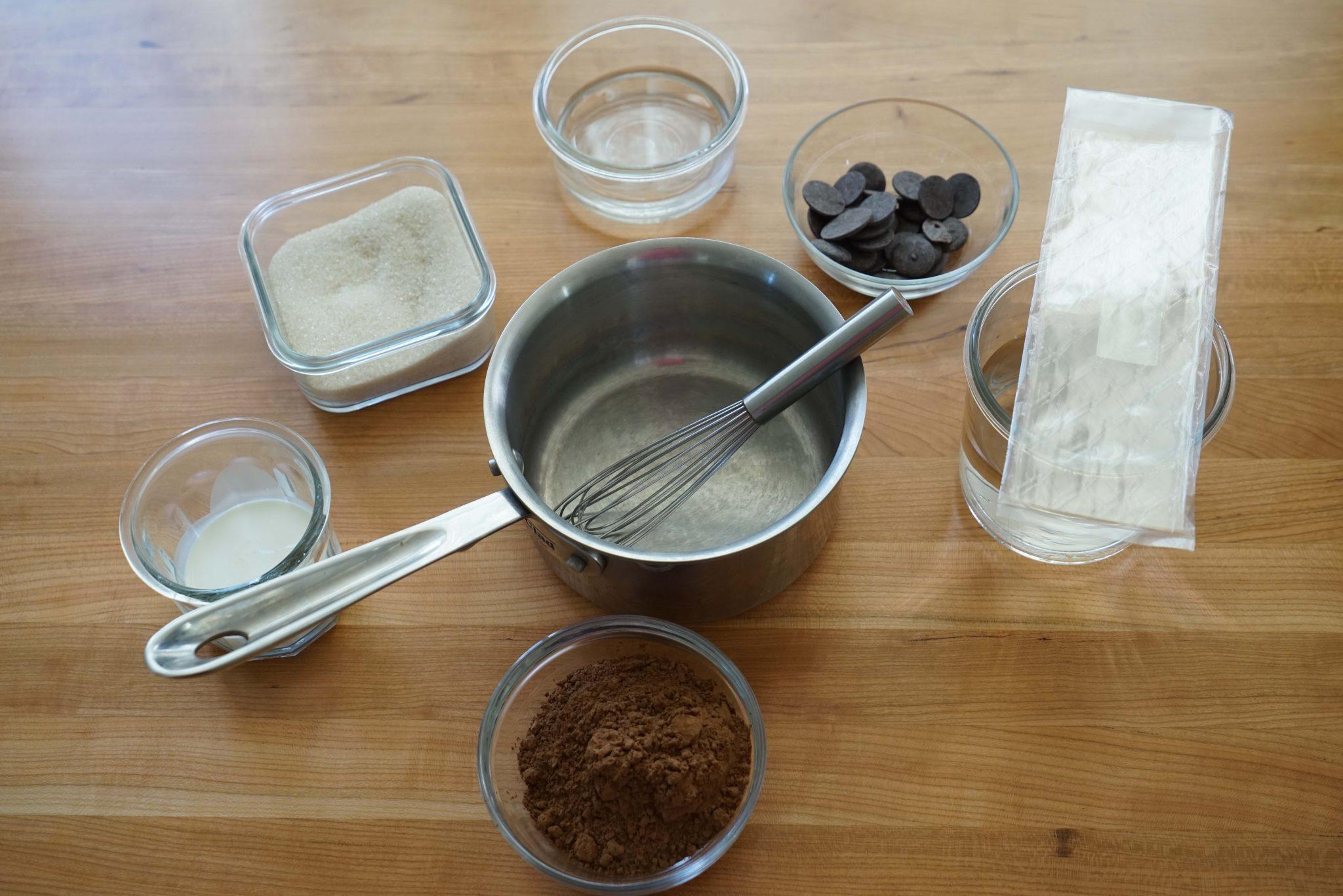 Chocolate Mirror Glaze Glaçage Brillant Au Chocolat